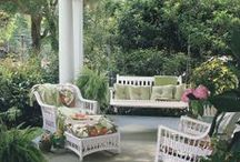 A PORCH OR PATIO / by Kay Droege
