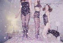 ► Glitter & Glamour / Glitter, sparkles, glamour, sequins, gold, luxury, fashion, happiness.