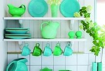 Aqua Blues & Greens...