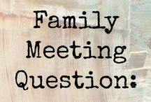 Family- family council/sibling love/our family is... / by Shannon Bronaugh
