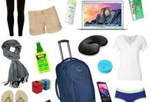 Travel Fashion & Packing Lists / Pack your bags! Fashionable packing lists and packing tips for every kind of trip. Including clothing and travel gear recommendations, and ways to look stylish on the go.