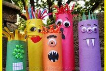 Kid's Crafts for Learning and Fun