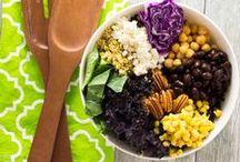 RECIPES : Meatless / Savory plant-based recipes, vegetarian recipes, and vegan recipes. Healthy food ideas & inspiration.