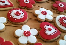 Decorated Cookies / All kinds of decorated cut-out cookies for lots of different holidays/occasions