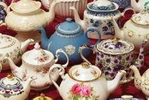 And what is tea without a teapot? / by Emily Hare
