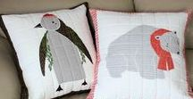 Pillow Covers, Throw Pillows / Beautiful throw pillows for your home decorating.