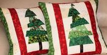 Christmas Quilted Decor / Christmas Quilts, Pillows, Advent Calendars, Stockings, Table Runners and More