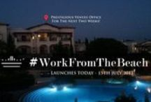 #WorkFromTheBeach
