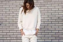 White / Total white looks!
