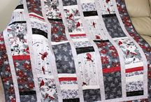 Christmas Quilts / Quilted wall hangings, tree skirts, table runners, and advent calendars.