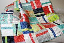 Batik Quilts / Quilts of all sizes made using batik fabrics.