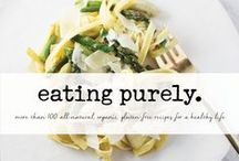 Purely Products / We use the highest quality natural + organic ingredients to create delicious products made with love. We hand-select each ingredient for its superior nutrient value, to provide healthy, yet convenient foods. #eatpurely #glutenfree #vegan #nongmo #organic