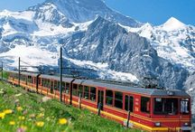 * Switzerland / Alps / N. Italy * / Switzerland and Alps travel tips and Alp and Northern Italy vacation travel planning.