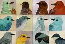 Birds / Beautiful images of birds: photographs, paintings, crafted items
