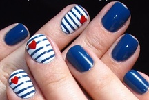 NAILS / I love finding new ways to do my nails! I am obsessed!  / by Debbie Marie