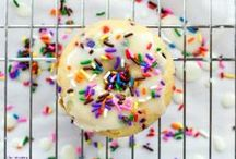Doughnuts for breakfast? / Doughnuts ~ Scones ~ Muffins ~ Other Morning Eats / by Tracy Byrne