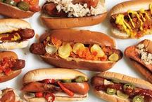 Hot Dogs! / Hot Diggity Dog! You can't have a great cookout without Stockyards® all beef Chicago-style hot dogs! Get some great hot dog ideas here to help spice up your barbecuing adventure this summer.