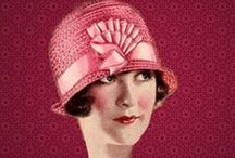 Hats / Women's hats in the styles of yesteryear (and a couple of men's hats too)
