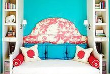 Rooms with turquoise