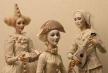 Art Dolls / Dolls that are more than playthings, works of art of outstanding quality