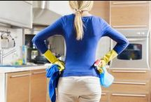 Cleaning House & fixing messes / Okay, I've pinned every tip on cleaning that I could find...so why isn't my house cleaned?? Oh, I have to use these tips, myself?? What a ripoff!