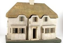 Dollhouses & Roomboxes / Miniature dwellings, shops, apartments, garrets, garden sheds. Building materials, ideas, tools etc.