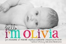 {Baby Love} | Birth Announcement / Birth Announcement Ideas / by Ashley Anderson