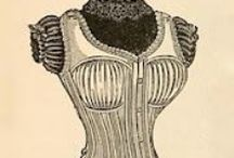 Corsets & Brassieres / Pictures of and information on Corsets: the history, the damages they can do, the styles and how to sew them ( not that I'd ever wear one) but you never know when someone will want a costume and I have to be ready!      Also added Bras as I have been finding one that fits properly very elusive.
