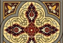 Arabesque  / I would like to try and incorporate some of these patterns into a quilt. They are so intricate and beautiful and my hands are so arthritic that it may not happen, but I can always dream (and look at these stunning designs!)