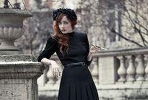 Darkest Fashion / Any fashion colour, as long as it's black!