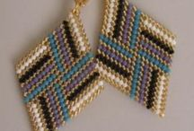 DIY Jewelry, Beadweaving / Patterns, Tutorials and Ideas for all Beadweaving techniques including peyote, brick, ladder, loom, right angle and more!! / by Tina Harshbarger
