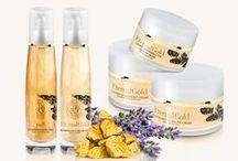 Eternal Gold / An anti-wrinkle face and body smoothing therapy. / Przeciwzmarszczowa terapia do twarzy i wygładzająca terapia do ciała