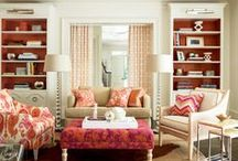 Family Rooms | Living Rooms / Great ideas for Family and Living Rooms that any family would enjoy