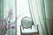 Drapery Ideas / Fun and up to date window treatment ideas!