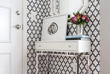 Entry / Great ideas for Entryways in your home!