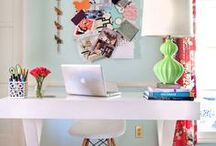 Home office crush / by Burlap and Crystal