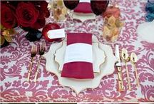 Wed in Color / Colors & Themes to Excite You and Your Guests.