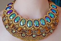 Beading Inspiration / Inspiration board for beaded jewelry. / by Olivia Waite