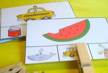 ABC Goodies / Alphabet activities and printables for learning the ABC's and alphabet letter sounds. / by This Reading Mama