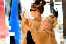 mini fashion icons / mini fashionistas. children with style.