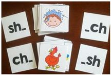 Phonics and Word Study Activities / Phonics activities and printables for learning blends, digraphs, short vowels, long vowels...and beyond phonics to grammar and word meanings!