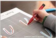 Handwriting / Activities and helpful articles for teaching handwriting to kids.