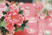 Table Decor / Table decorations, flowers, gifts, embellishments, personalized ornaments.