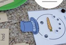 Winter Theme / Snow and winter-themed activities, printables, for toddlers, preschoolers, and elementary-aged kids.