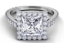 Carezza / Danhov Diamond Engagement Rings from the Carezza Collection