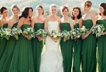 Emerald Weddings / Pantone Color of 2013, Emerald.
