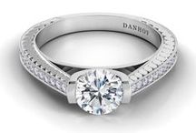 Tubetto / Danhov Engagement Rings from the Tubetto Collection