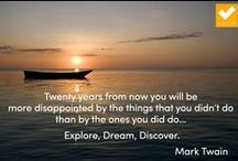 Inspirational quotes / Thoughts and quotations to help inspire and motivate. / by EuroTalk