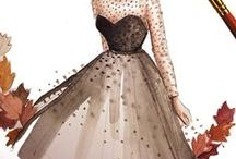 //Fashion Illustration// / A collection of fashion artworks