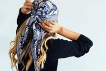 Tie Head Scarves / by Diane Maietta, The Poetry Chic